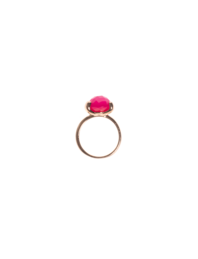 BRONZALLURE Filigree Achat Pink
