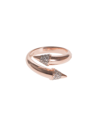 BRONZALLURE Arrow Pointy Rose Gold