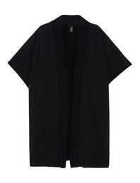 THOM KROM Oversize Jersey Open Hem Black