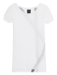 THOM KROM Double Layer Print Off White