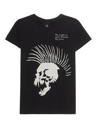 THOM KROM Skull Shirt Black