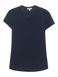 JAMES PERSE Sheer Slub Crew Tee Navy