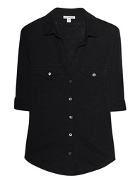 JAMES PERSE Breast Pocket Black