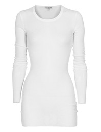 JAMES PERSE Rib Long Extra White