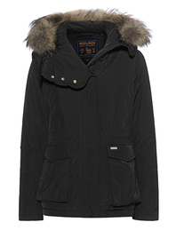 WOOLRICH Short Military Parka Black
