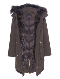 WOOLRICH Military Parka Fox Brown