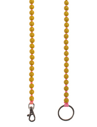 INA SEIFART Wooden Pearls Yellow