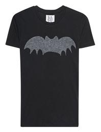 ZOE KARSSEN Bat Tee Pirate Black