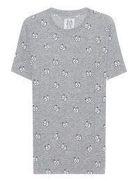 ZOE KARSSEN Boyfriend Cartoon Eyes Heather Grey