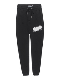ZOE KARSSEN Relaxed Sweatpant Bat Black