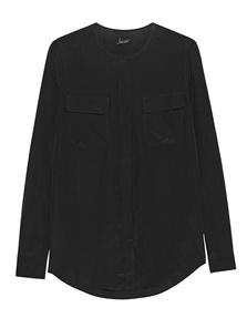 JADICTED Pocket Blouse Black