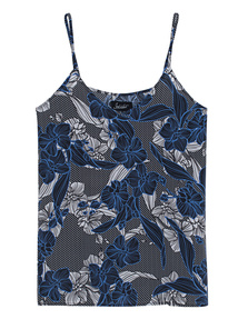 JADICTED Tank Flowers Blue