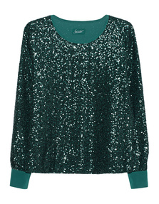 JADICTED Sequin Chic Green