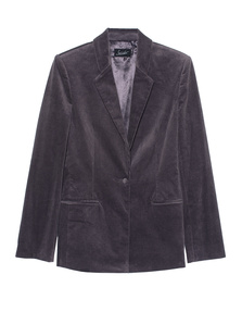 JADICTED Corduroy Blazer Grey