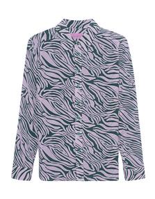 JADICTED Silk Print Zebra Multicolor