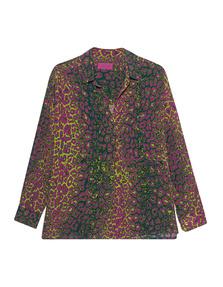 JADICTED Leo Silk Blouse Multicolor