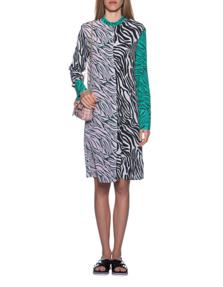 JADICTED Zebra Patch Dress Multicolor