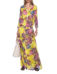 JADICTED Flower Dress Yellow