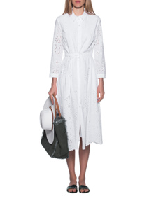JADICTED Shirt Dress White