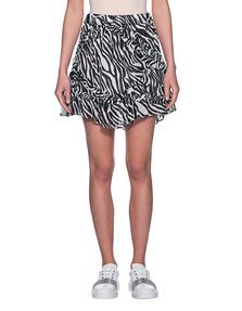 JADICTED Frill Zebra Black White