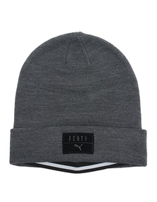 Fenty x Puma by Rihanna Layered Beanie Dark Grey