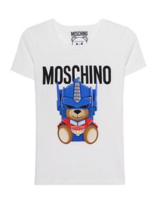MOSCHINO Transformers Teddy White