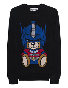 MOSCHINO Transformers Teddy Black