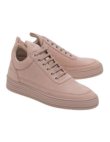 Filling Pieces Low Top Perforated Pink