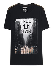TRUE RELIGION Rain Street Black