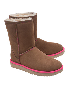 UGG  Classic Short Neon Camel