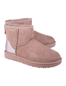 UGG Classic Mini II Metallic Rose