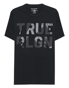 TRUE RELIGION Metallic Black