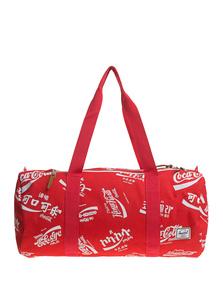 HERSCHEL SUPPLY CO. Duffle Coca Cola Red