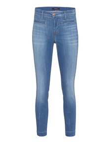 J BRAND Skyla Crop Skinny Defined