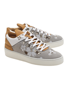 Filling Pieces Mountian Cut Japanese Embroidery Light Grey