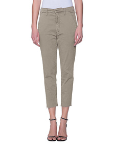 MOTHER Chino Cotton Khaki