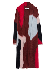 DVF Diane von Furstenberg Knit Intarsia Multicolor