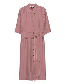 DVF Diane von Furstenberg 3/4 Sleeve Belted Bordeaux