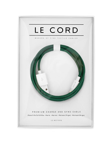 LE CORD Solid Spruce Green