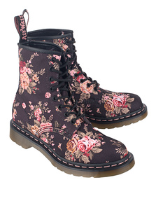 DR. MARTENS Victorian Flowers 8 Eyes