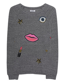 LAUREN MOSHI Aggie Heather Grey