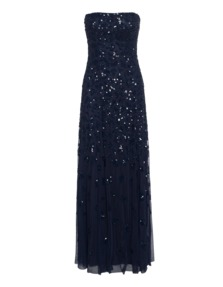 YOUNG COUTURE BY BARBARA SCHWARZER Corsage Sequin Midnight