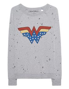 LAUREN MOSHI Darby Vintage Wonder Woman Grey