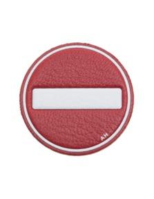 ANYA HINDMARCH No Entry Red
