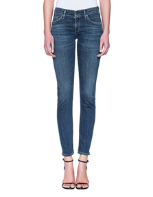 CITIZENS OF HUMANITY Racer Low Rise Skinny Blue