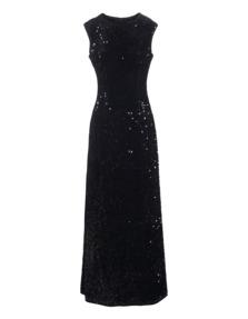 STEFFEN SCHRAUT Sequin Gown Black