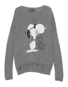 PRINCESS GOES HOLLYWOOD Crazy Snoopy Grey