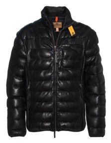PARAJUMPERS Ernie Leather Black