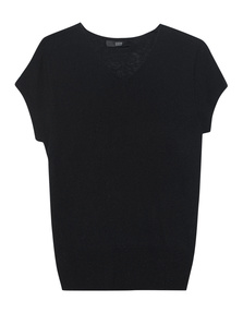 STEFFEN SCHRAUT Fine Knit Black