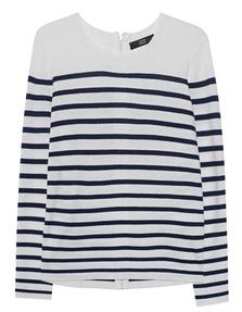 STEFFEN SCHRAUT Stripe Knit Navy White